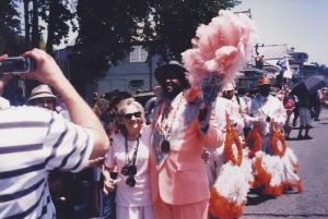 Imogene with Zulu member