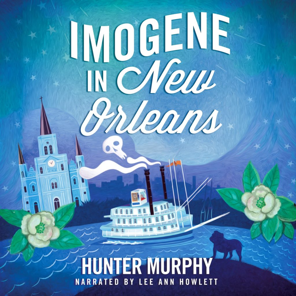 6-16-16 Imogene in NOLA audiobook cover art